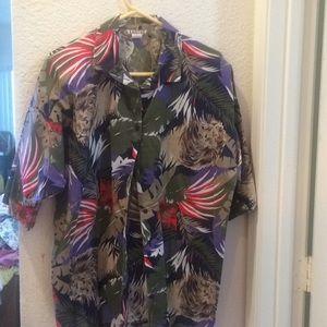 Great print ladies blouse 20w